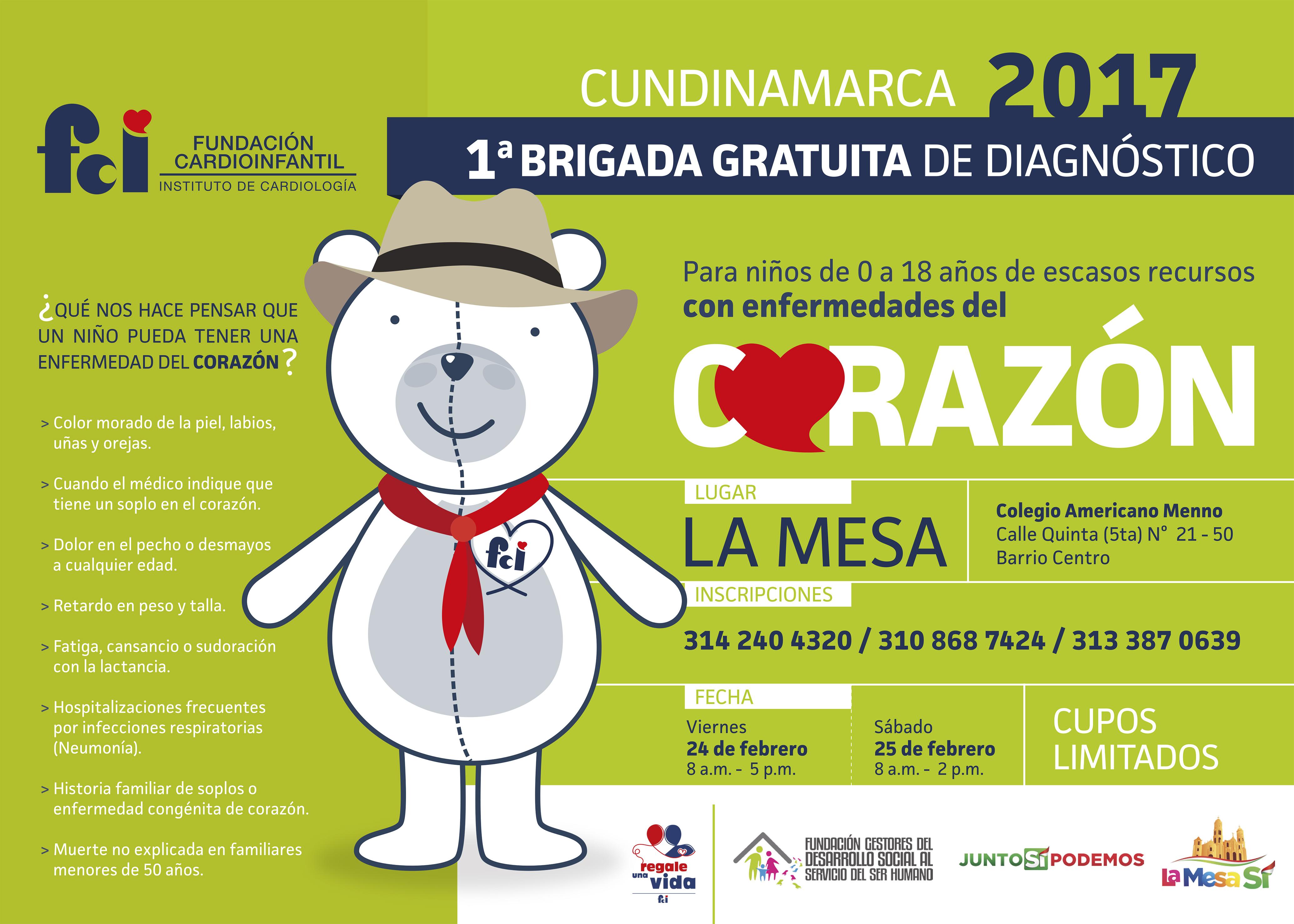 Médicos de la Fundación Cardioinfantil atenderán de manera gratuita ...