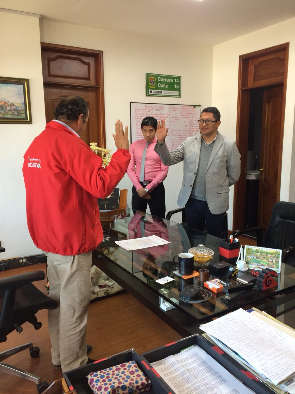 Circuito Judicial : Se posesiona nuevo juez primero administrativo del circuito