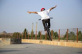 275px-BMX_Rider_In_Iran-_Qom_city-_Alavi_Park_26