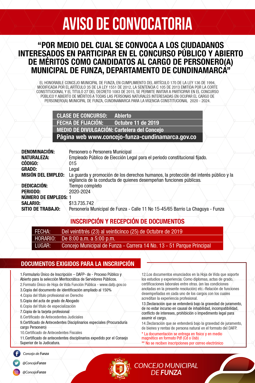 Concejo Funza Afiche Convocatoria Personero 28x42-01