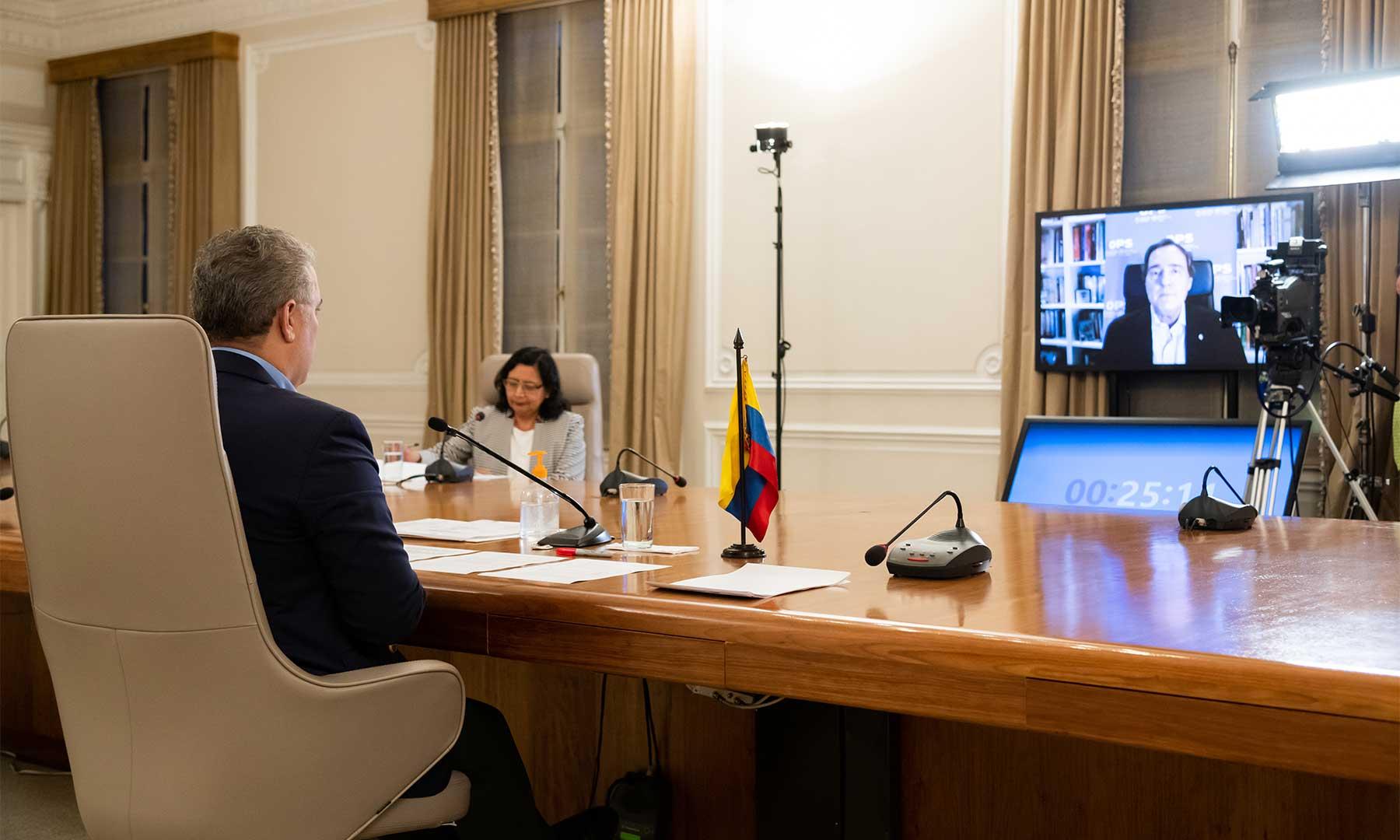 En el especial de televisión 'Prevención y Acción', el Subdirector de la Organización Panamericana de la Salud (OPS), Jarbas Barbosa, destacó las medidas adoptadas por Colombia para proteger del covid-19 a los adultos mayores.