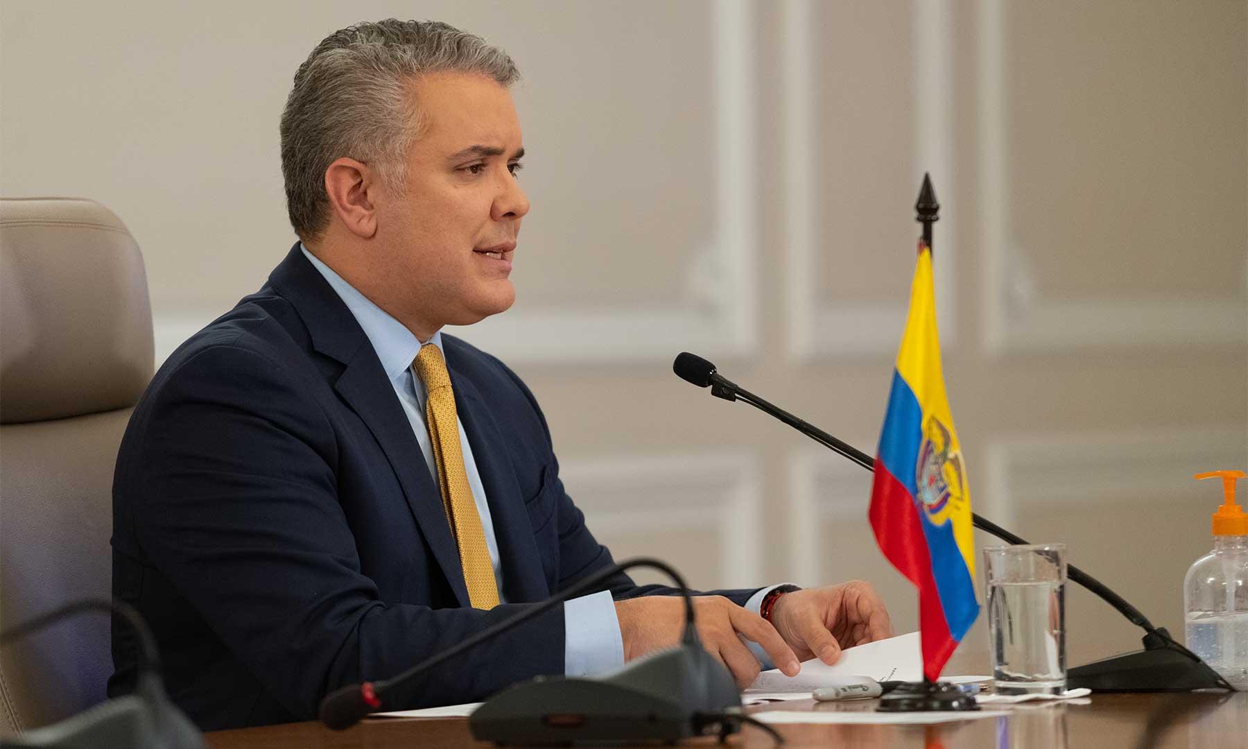"""""""Tenemos que seguir fortaleciendo nuestra disciplina ciudadana"""", expresó el Presidente Iván Duque Márquez, al comenzar la emisión del programa televisivo 'Prevención y Acción' de este jueves."""