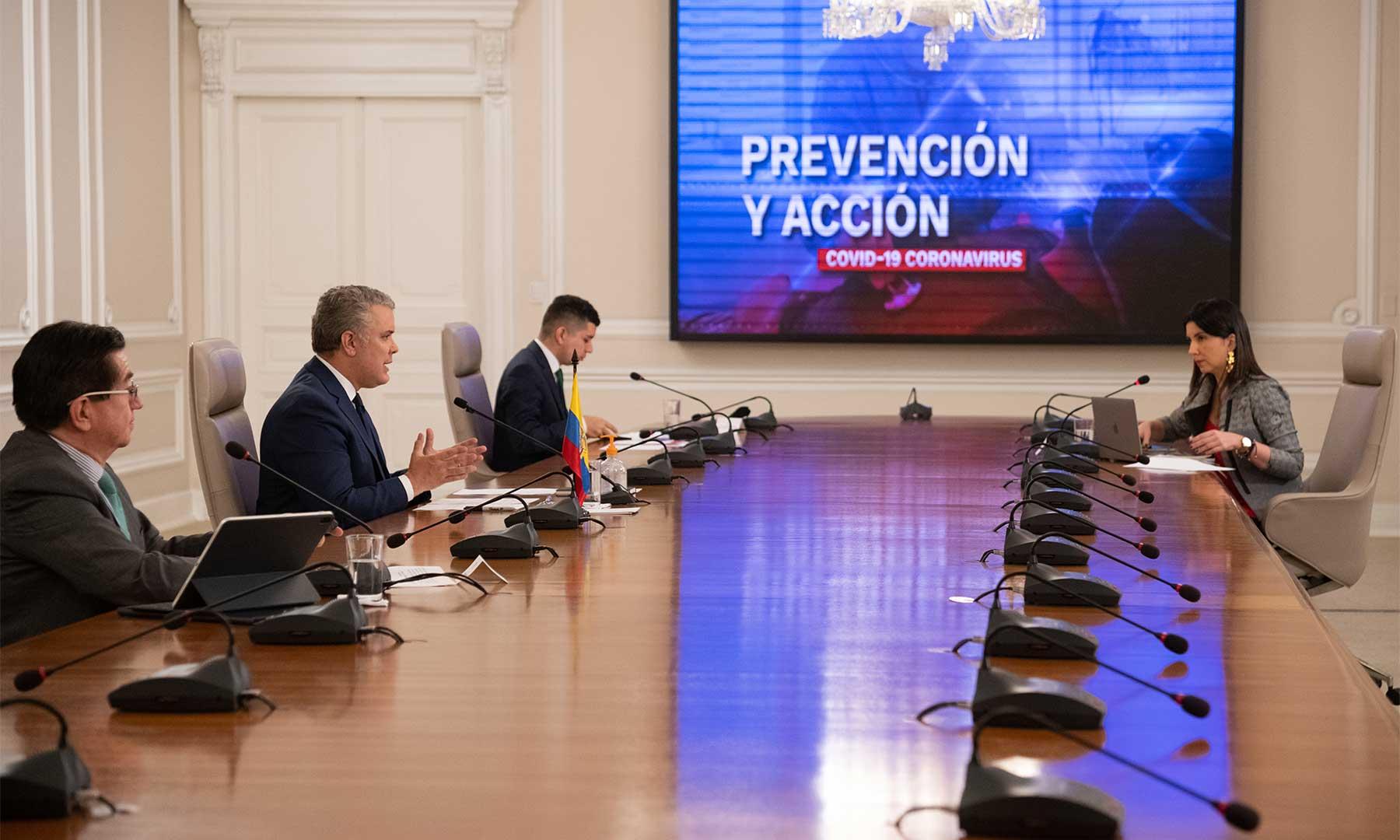 El Presidente Duque informó este martes, en 'Prevención y Acción', que el 56.1% de afectados por el covid-19 ya están recuperados.
