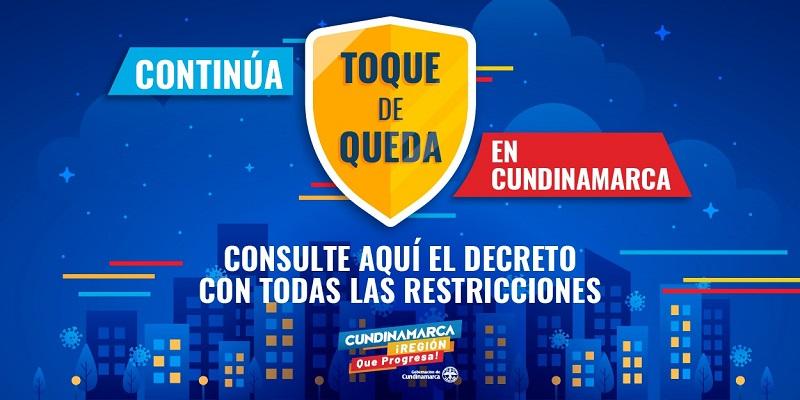 Así será el toque de queda en Cundinamarca   OTV Television